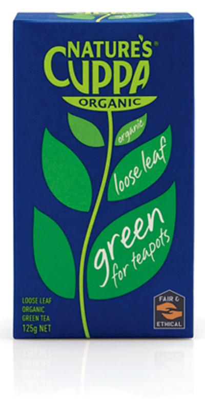 Green Tea 125g - Loose Leaf 1